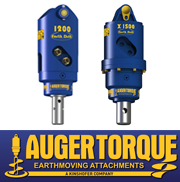 Augertorque Earth Drills