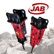 JAB Hydraulic Breakers