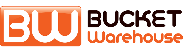 Bucket Warehouse Logo - Links to Home Page